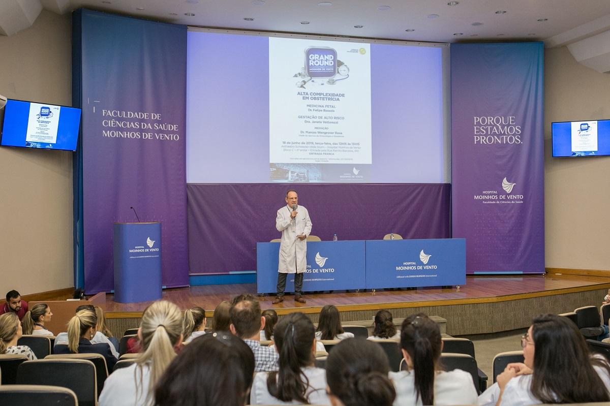 Hospital Moinhos de Vento apresenta novidades e resultados sobre alta complexidade em obstetrícia