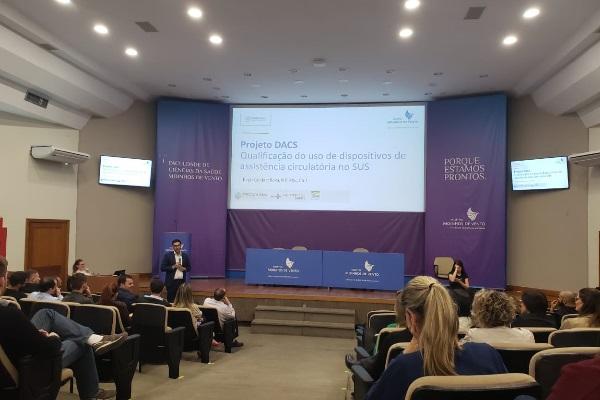 Projeto de qualificação do uso de Dispositivos de Assistência Circulatória no SUS é tema de semináriono Hospital Moinhos de Vento