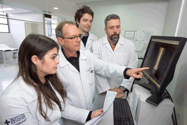 Hospital São Lucas da PUCRS utiliza técnica de congelamento de tumor ósseo