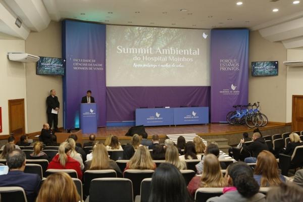 Soluções pioneiras de sustentabilidade são destaque no I Summit Ambiental do Hospital Moinhos