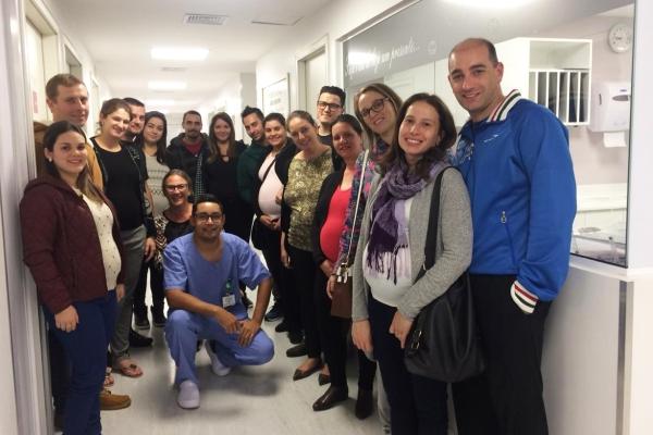 HospitalTacchiniregistra aumento no número de partos normais