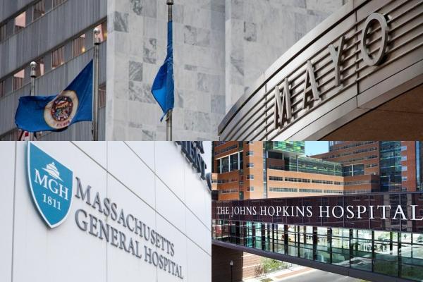 Os melhores hospitais dos Estados Unidos