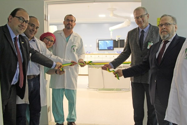Inaugurado novo angiógrafo do Hospital Conceição