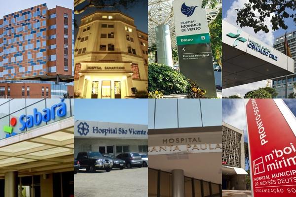 Ranking lista hospitais brasileiros entre osmelhoresda América Latina