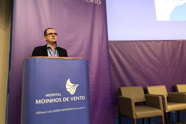 Especialista aborda cenário da inovação no Hospital Moinhos de Vento
