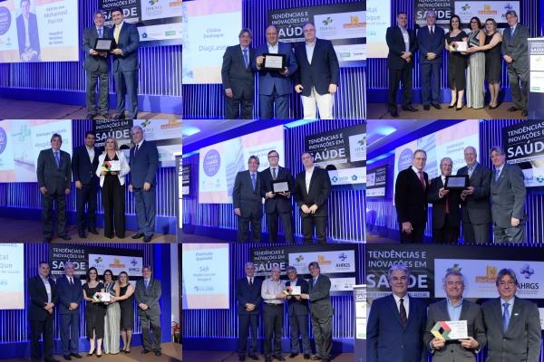 FEHOSUL, AHRGS e SINDIHOSPA premiam os Destaques da Saúde em 2019