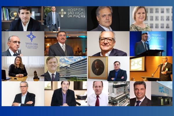 Confira todas as entrevistas da série especial com executivos de hospitais e operadoras do RS