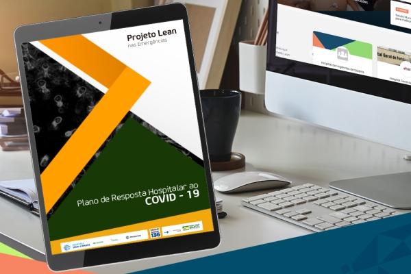 Acesse o Plano de Resposta Hospitalar ao Covid-19 elaborado pelo projeto Lean nas Emergências