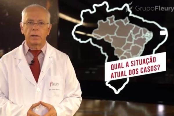 Covid-19 Grupo Fleury grava série de vídeos rápidos para esclarecer dúvidas mais comuns