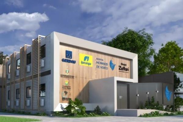 Hospital Moinhos de Vento, Ipiranga, Gerdau, Zaffari e Prefeitura de Porto Alegre erguerão novo hospital SUS
