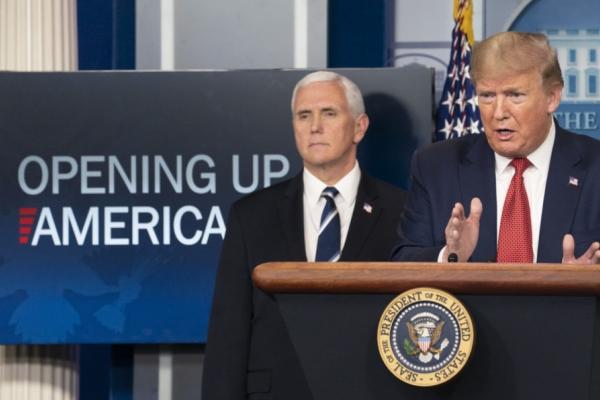 Trump define diretrizes para a reabertura gradual da economia norte-americana