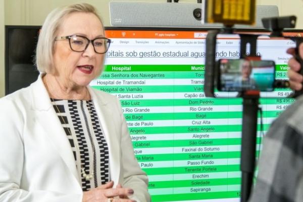 Governo do RS garante pagamento de diárias de 136 novos leitos de UTIs