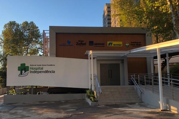 HospitalMoinhos, Gerdau, Ipiranga e Grupo Zaffari entregam em tempo recorde novo hospital SUS