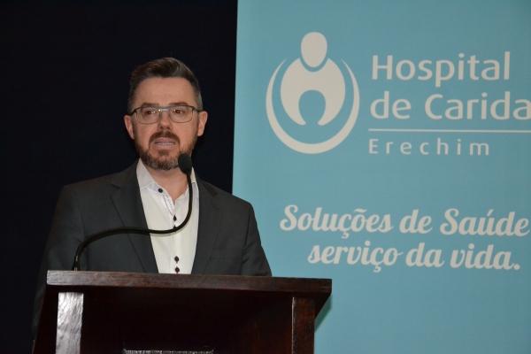 Hospital de Caridade de Erechim vive nova realidade em meio à pandemia do coronavírus