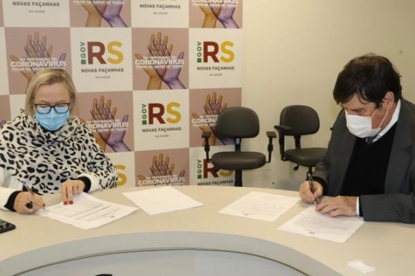 Instituto de Cardiologia assina contrato para prestação de serviços no Hospital Regional de Santa Maria
