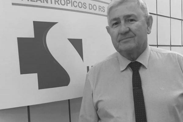 Jairo Tessari, superintendente da Federação das Santas Casas do RS morre aos 68 anos