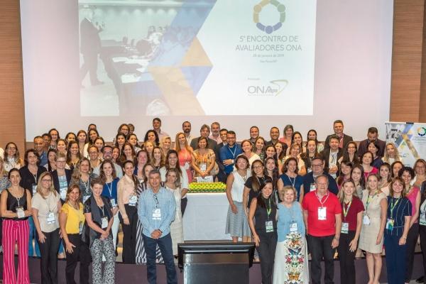 Programa de Treinamento para Avaliadores daONArecebe certificação internacional