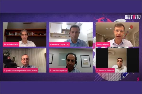 Ricardo Amorim, Chapchap, Magalhães, Klajner, Tavares e lideranças da saúde apresentam suas visões sobre a pandemia
