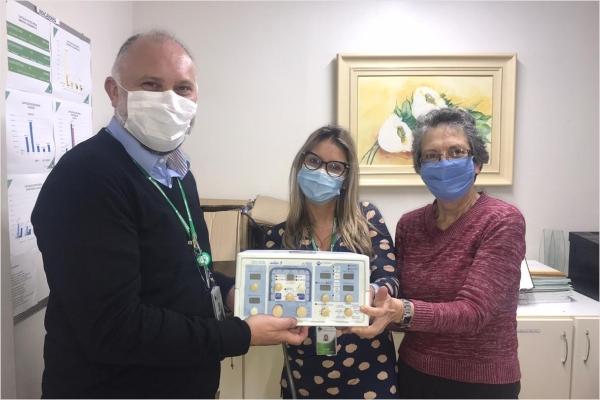 Instituto Floresta e SINDIHOSPA doam respiradores para hospitais de Porto Alegre