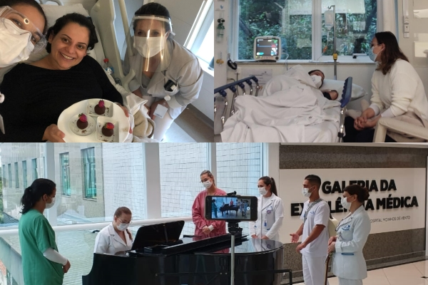 O que importa para você Hospital Moinhos de Vento realiza desejos de pacientes e colaboradores