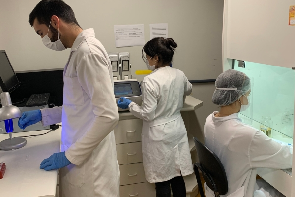 UFG desenvolve teste molecular rápido e mais acessível para a COVID-19 utilizando microchips