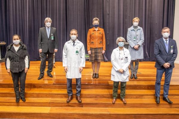 Diretoria Executiva do Hospital de Clínicas de Porto Alegre toma posse e inicia novo mandato