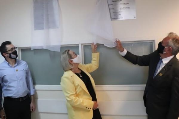 Governo do RS e prefeitura de Guaíba inauguram 40 novos leitos