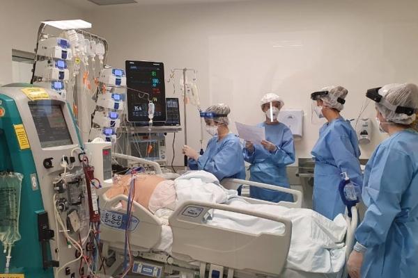 Hospital de Clínicas de Porto Alegre abre mais 12 leitos para atendimento a pacientes com Covid-19