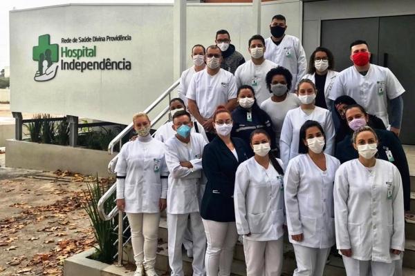 Módulo Covid do Hospital Independência completa um mês de atividades com quase 100 atendimentos