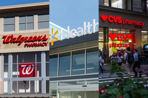 Walgreens investe US$ 1 bilhão em atenção primária eWalmartpassará a vender seguros de saúde