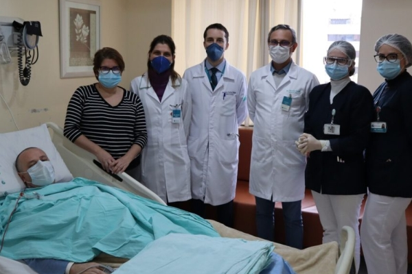 Hospital Mãe de Deus realiza seu primeiro transplante de medula óssea autólogo