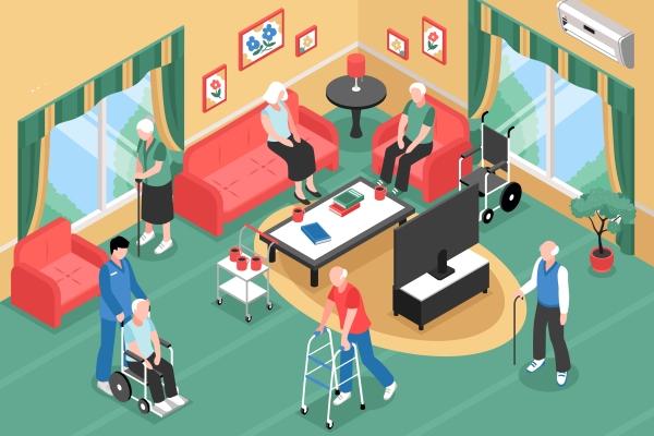 Live discute papel social dos residenciais geriátricos_