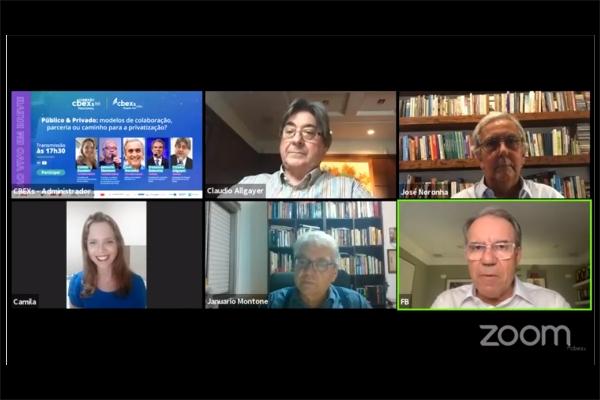 CBEXs debate modelos de colaboração e parceria entre os setores público e privado de saúde