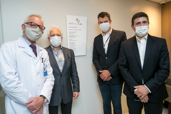 Hospital Moinhos de Vento inaugura Laboratório de Patologia com capacidade para realizar três mil exames por mês
