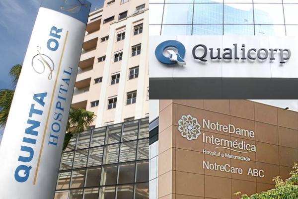 Rede D'Or, Qualicorp e NotreDame movimentam o mercado da saúde