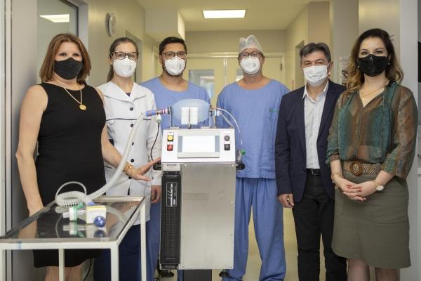 Hospital São Roque recebe equipamento de suporte respiratório desenvolvido pela Tramontina