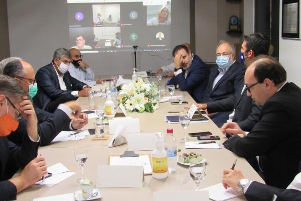 Prefeito eleito de Porto Alegre se reúne com lideranças da saúde no SINDIHOSPA