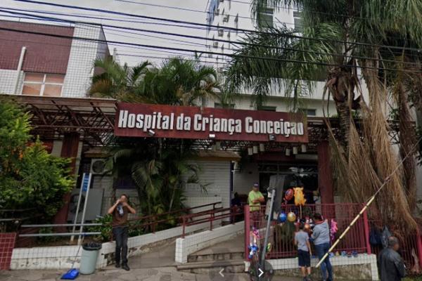 Emergência do Hospital Criança Conceição está atendendo com restrição