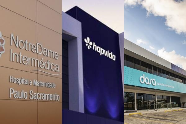 Fusão da NotreDame Intermédica e Hapvida e compra de hospital pela Dasa movimentam mercado
