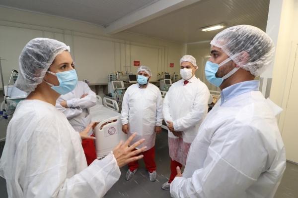 Governador do RS inicia novo processo de expansão de leitos de UTI para Covid