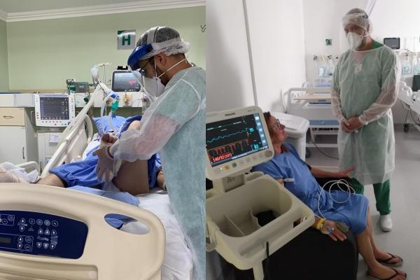Hospital Independência chega à marca de mil pacientes Covid