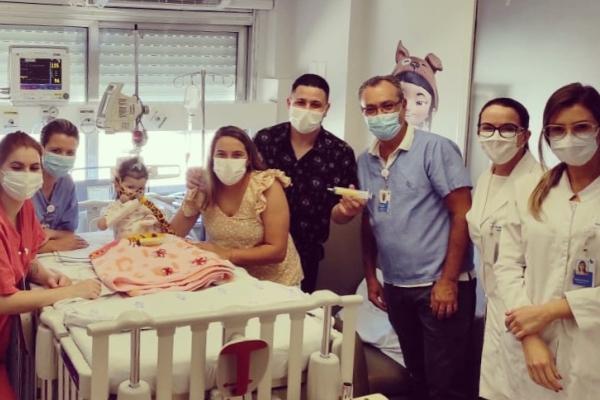 Hospital Moinhos de Vento aplica terapia inovadora de R$ 12 milhões para tratamento de Atrofia Muscular Espinhal