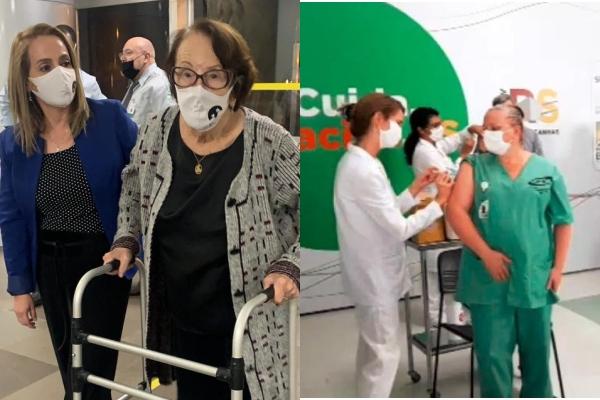 Rio Grande do Sul inicia vacinação contra a Covid-19