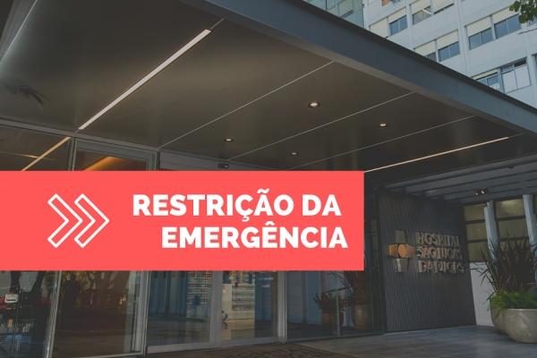 Hospital São Lucas da PUC-RS restringe Emergência por 96 Horas