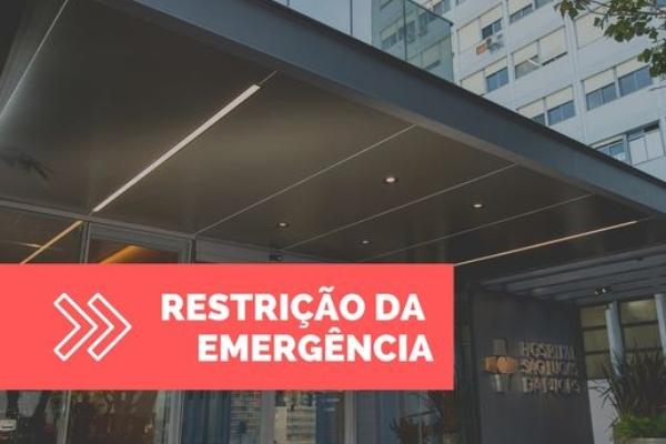 Hospital São Lucas da PUCRS anuncia restrição de atendimento na emergência por tempo indeterminado