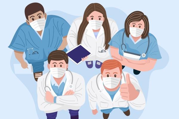 Setor da saúde gerou saldo positivo de 110 mil empregos em 2020