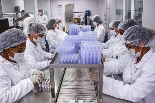 Mais 187,8 mil doses de CoronaVac chegam ao Rio Grande do Sul nesta terça-feira