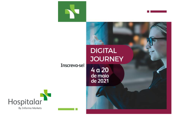 1º Digital Journey byHospitalarocorre entre os dias 4 e 20 de maio