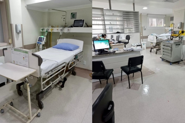 Hospital Independência amplia leitos de UTI Covid