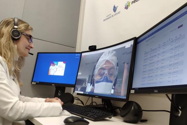 Hospital Moinhos de Vento ultrapassa 56 mil teleatendimentos em projetos do PROADI-SUS